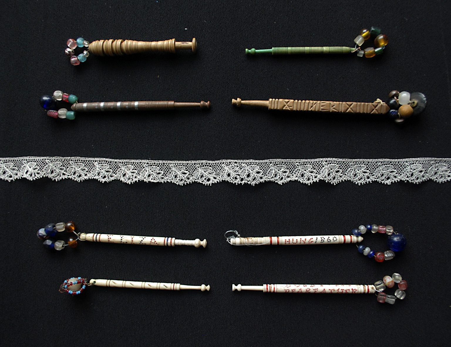 Bucks Point Lace and Lace Bobbins