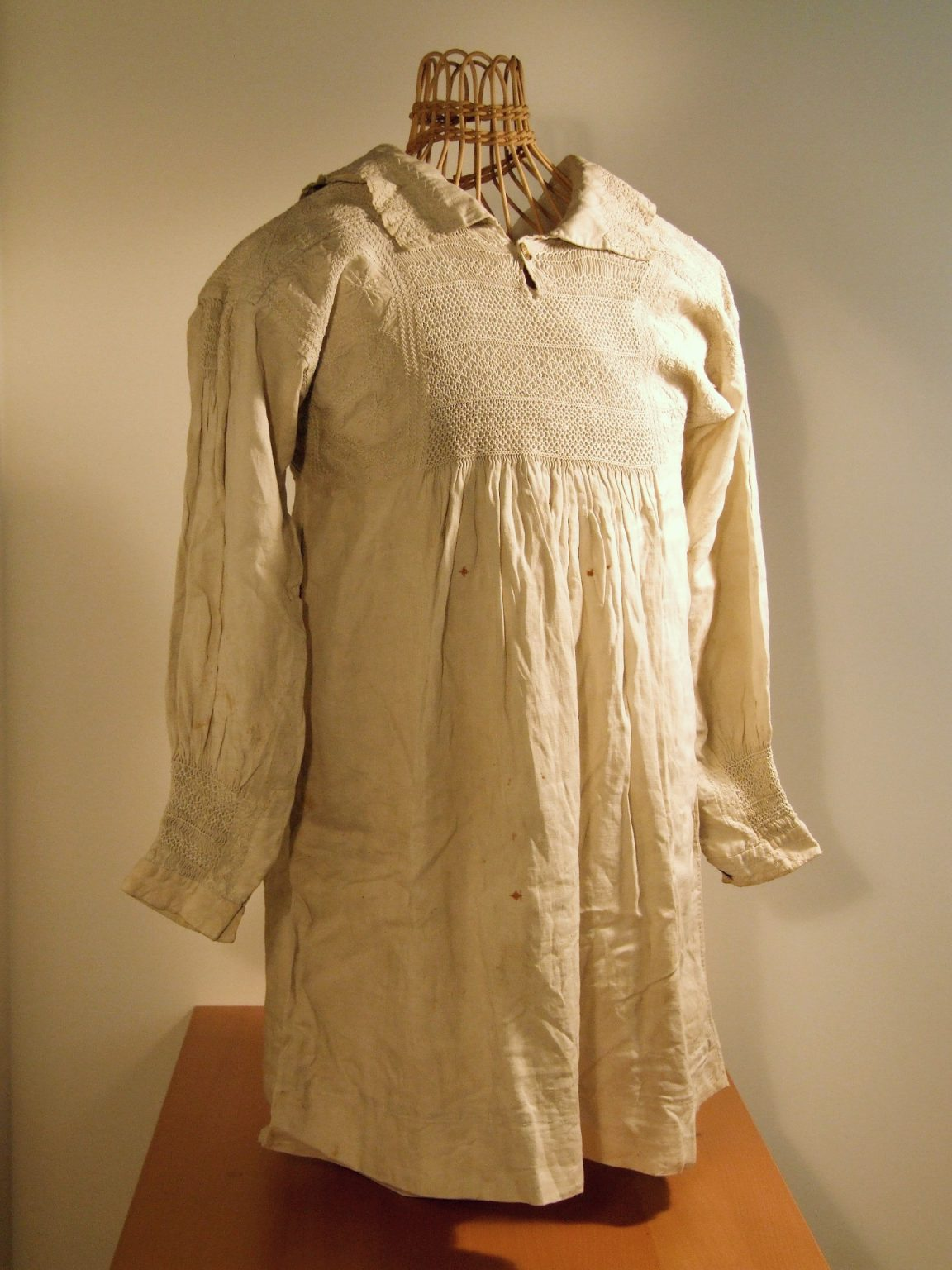 Embroidered Farmer's Smock