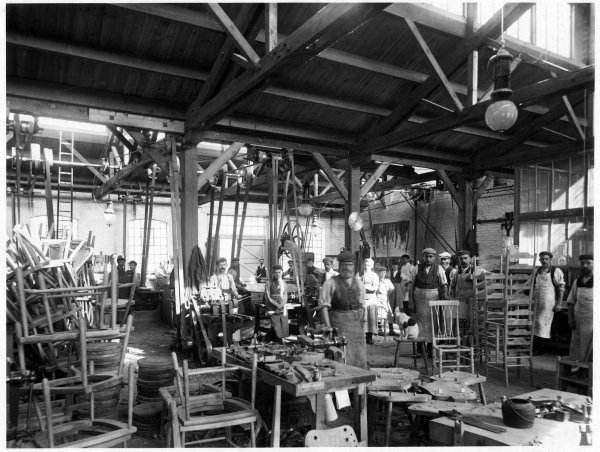 Glenister's chair factory, Bellfield Road