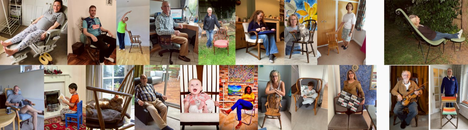 Me and My Chair | A Digital Community Exhibition