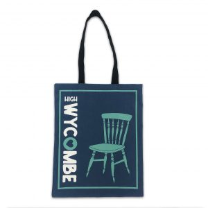 Wycombe Museum - 'Blue Chair' Book Bag