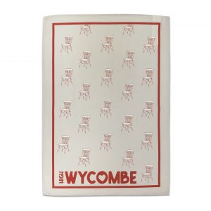 Wycombe Museum - 'Natural Chairs' Tea Towel
