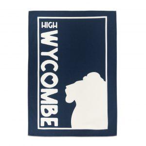 Wycombe Museum - 'Blue Lion' Tea Towel