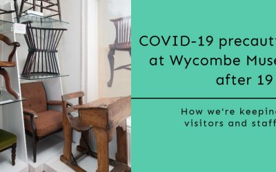 COVID Precautions at Wycombe Museum after 19th July